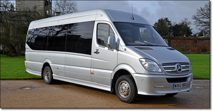 16 Seater Executive Minibus Hire