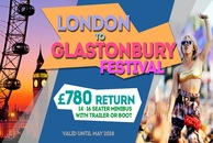 London To Glastonbury Festival Minibus hire