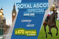 London To Ascot Minibus hire