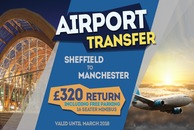 Sheffield To Manchester Minibus Hire