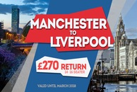 Manchester To Liverpool Minibus hire